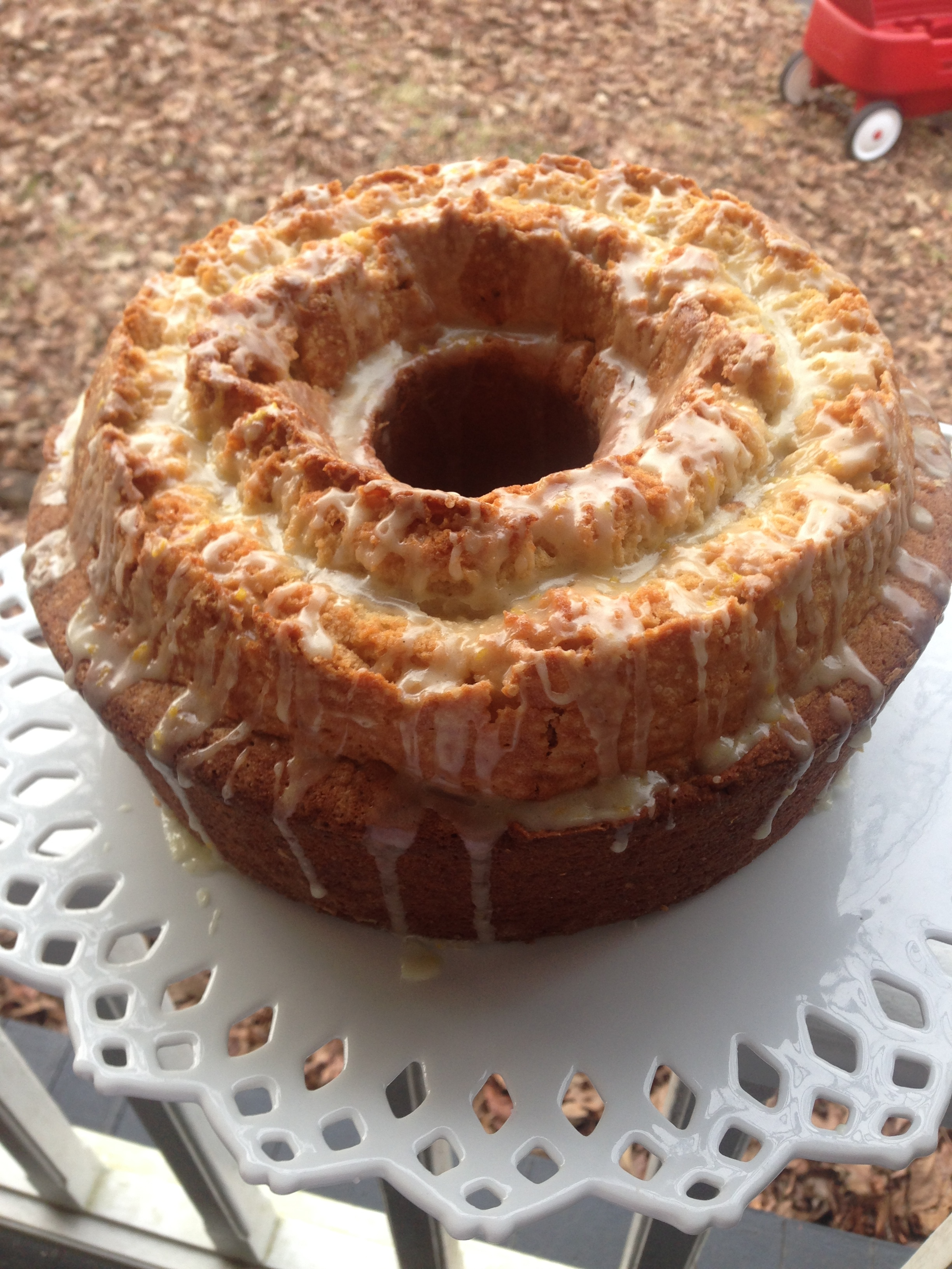 Florida Orange Poundcake