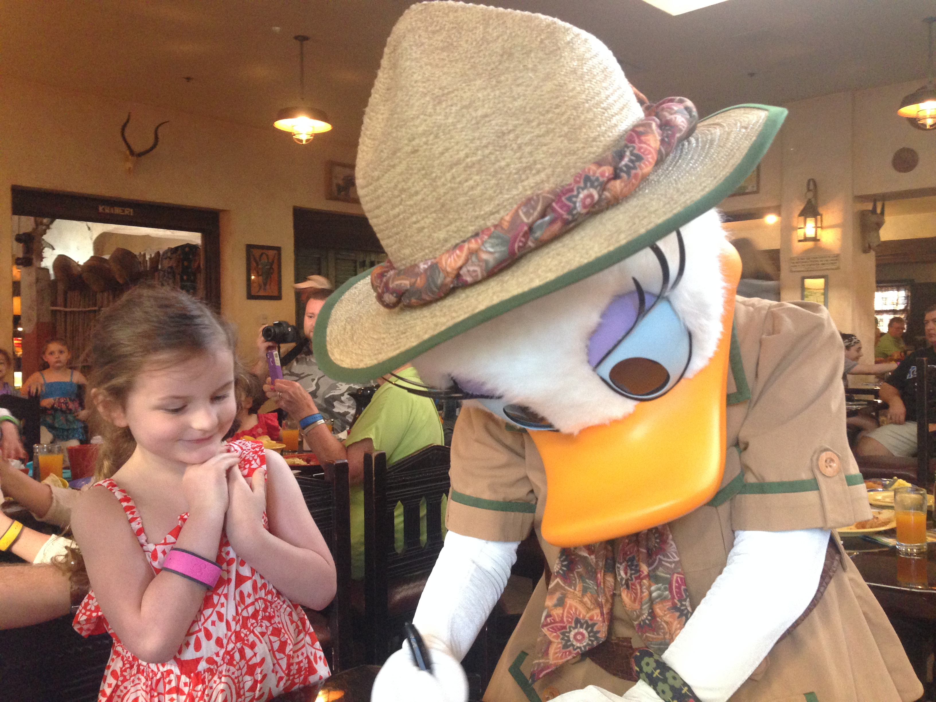 Lucy was so enamored with Daisy. She loved her eyelashes.