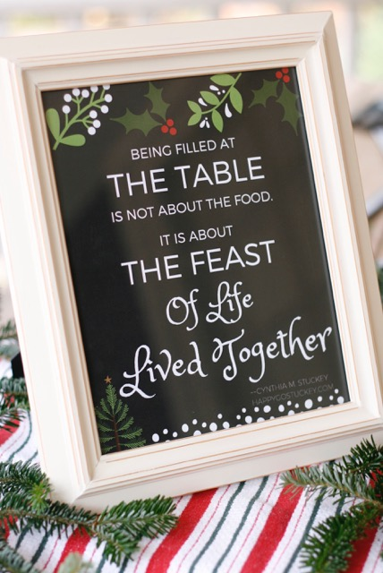 A little bit of news and a FREE Christmas Printable for you!