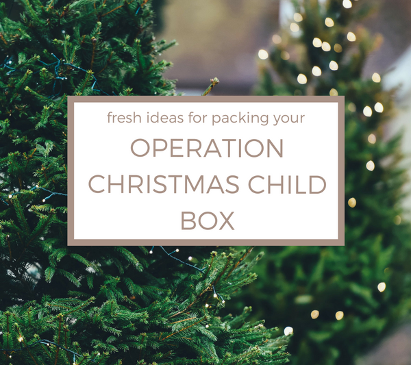 Fresh Ideas for Packing Your Operation Christmas Child Box