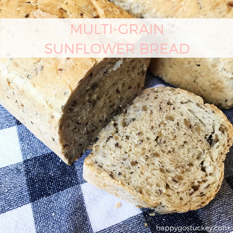 On Waiting Well (and a recipe for Multi-Grain Sunflower Bread.)