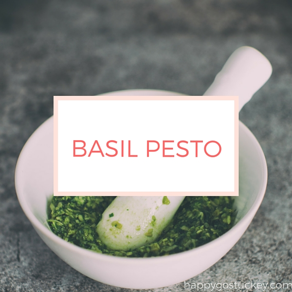 Quick Basil Pesto