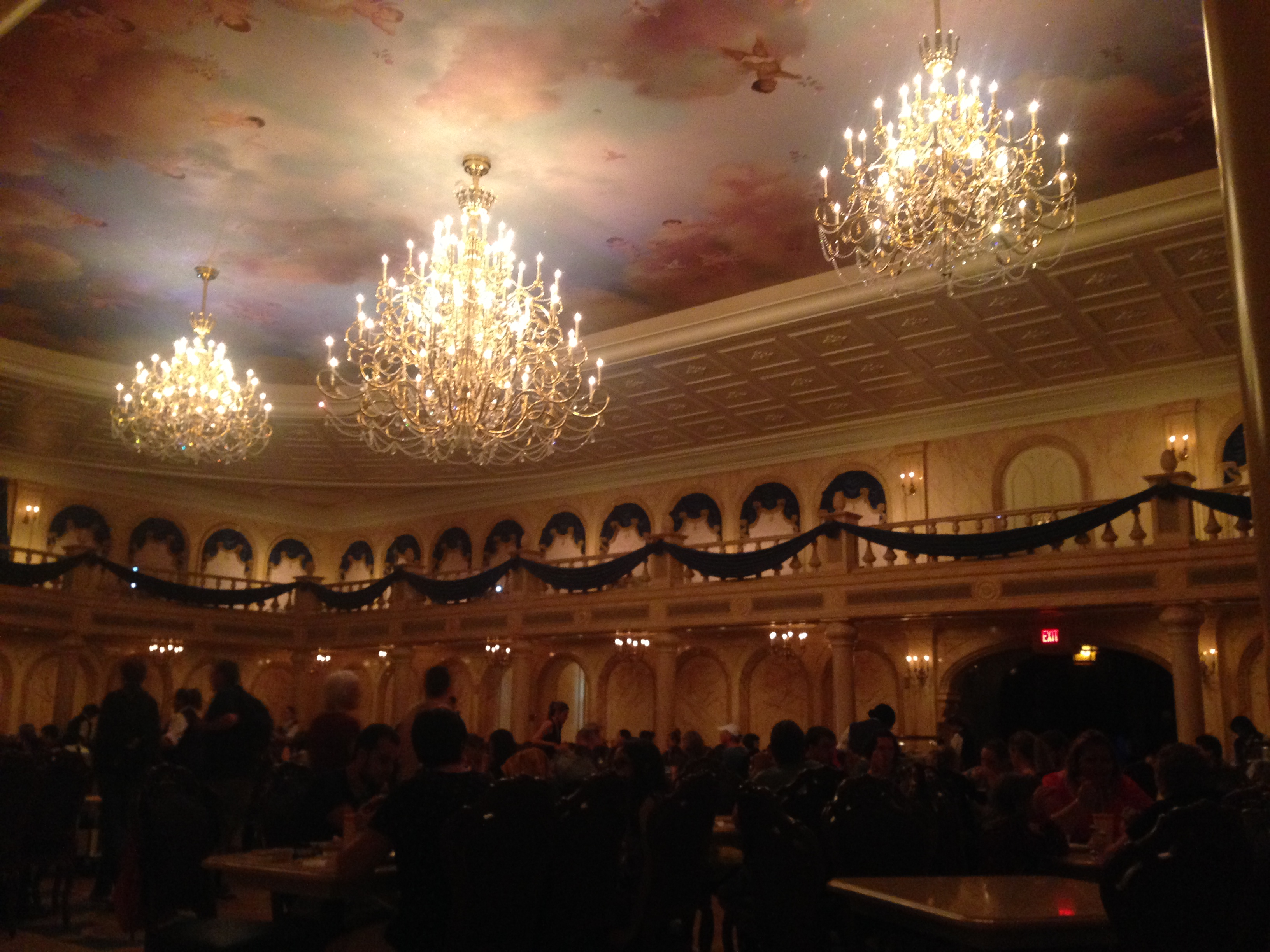 Lunch at Be Our Guest in the Ballroom!