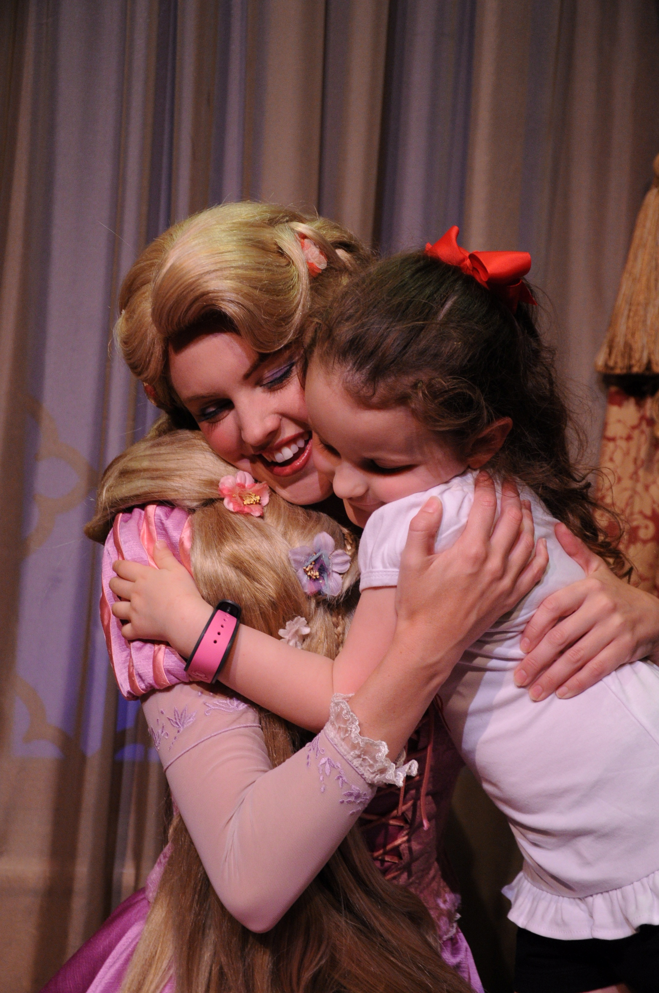 Rapunzel was so sweet as well.