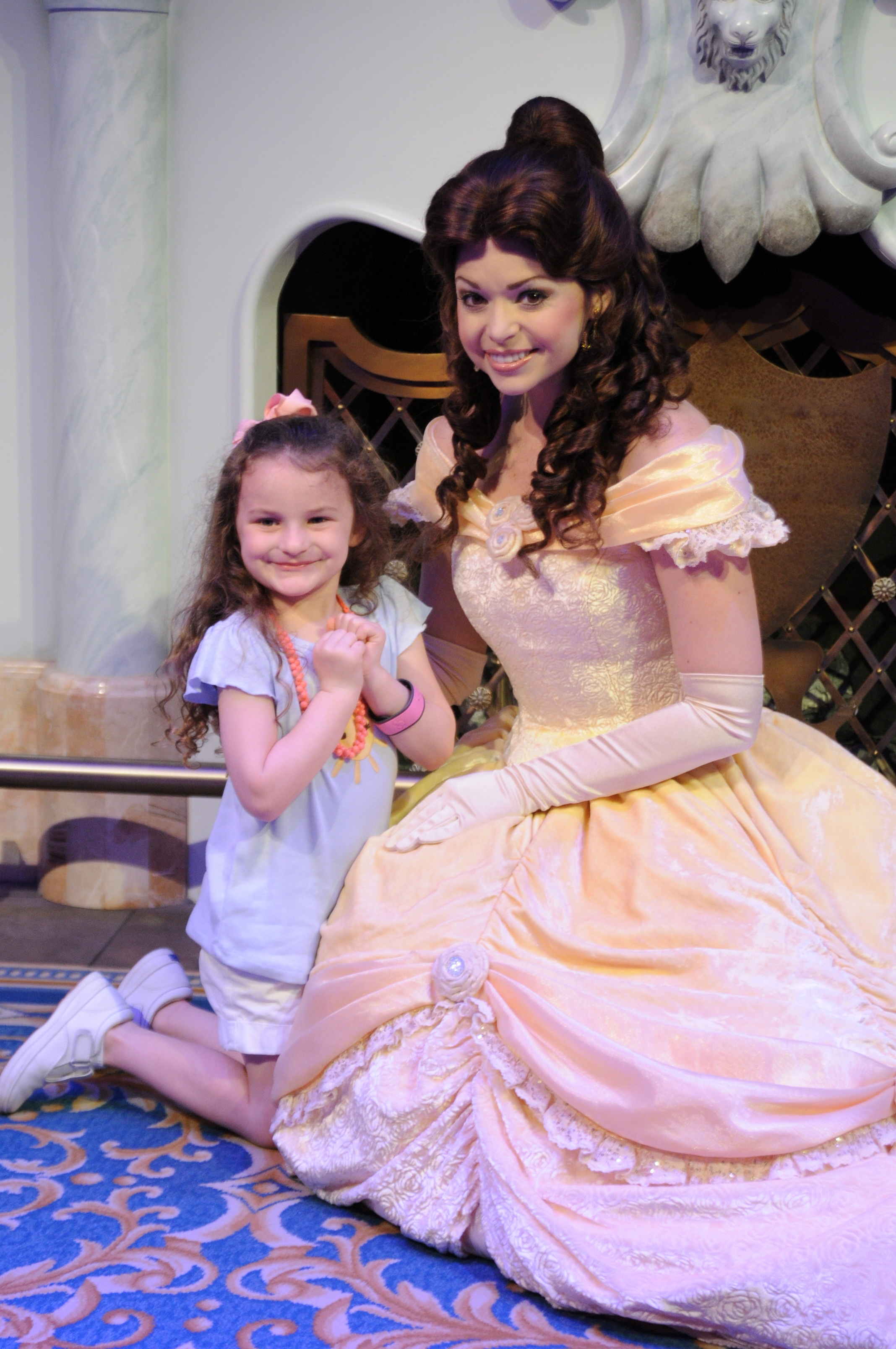 Meeting Princess Belle
