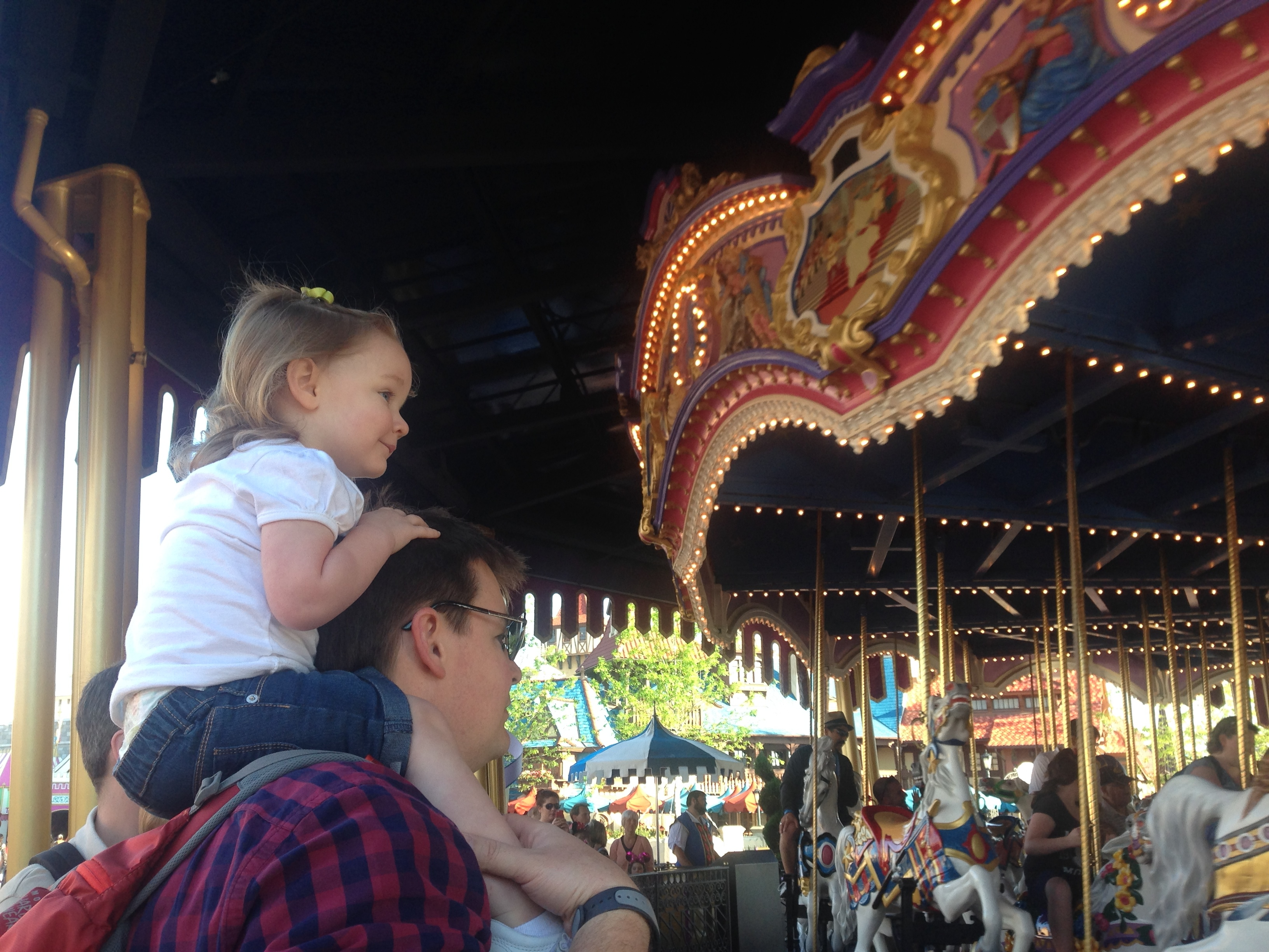 Abby's #1 Favorite-- Prince Charming's Regal Carousel!