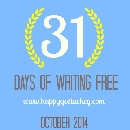 31 Days of Writing Free in October