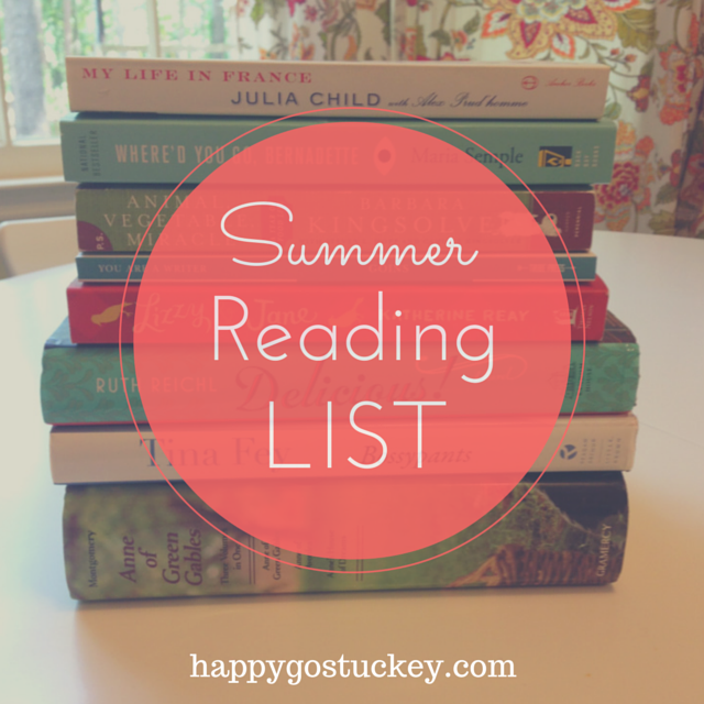 Summer Reading List (2015 edition)