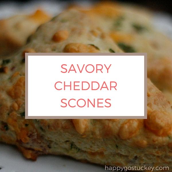 Savory Cheddar Scones