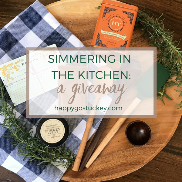 Simmering in the Kitchen: A Giveaway
