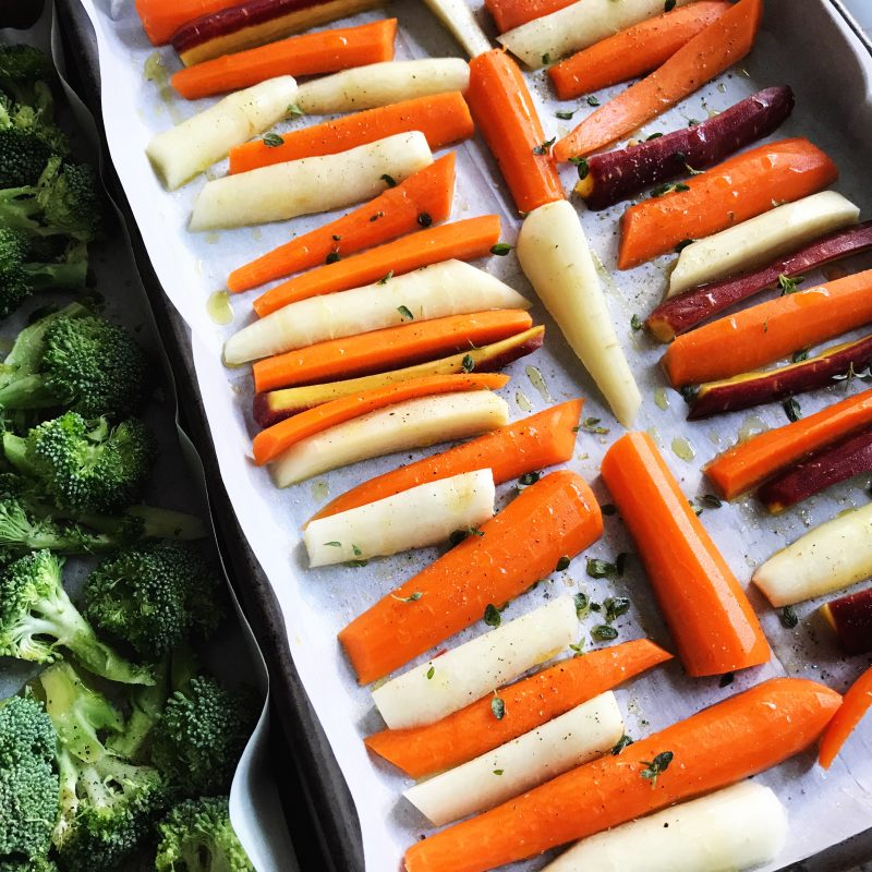 Roasted Vegetables (they're simpler than you might think.)